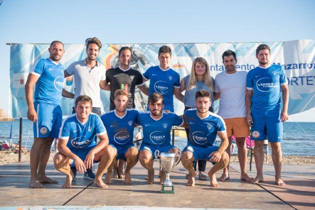 Los alicantinos del Vodka JRS repiten victoria en el torneo de fútbol playa Bahía de Mazarrón, Foto 3
