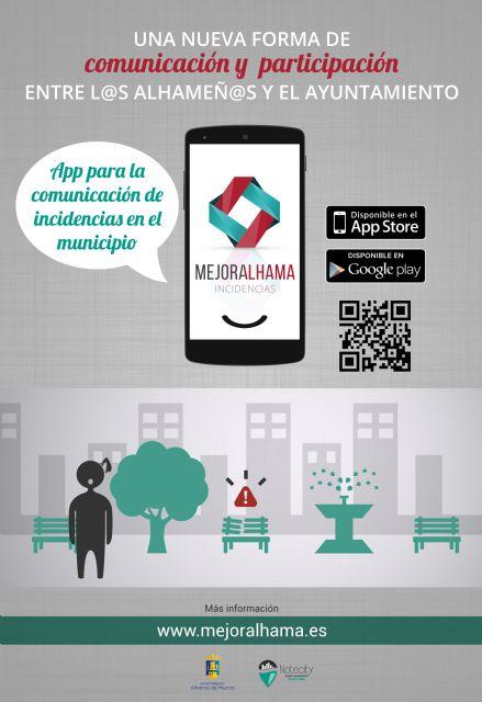 MejorAlhama, una nueva forma de comunicación entre el Ayuntamiento y los vecinos, Foto 2