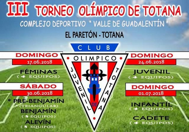 """The Sports Complex """"Valle del Guadalentín"""" of El Paretón hosts the III Olympic Tournament of Totana, Foto 4"""
