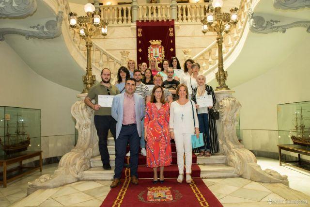 Los alumnos del programa ERASMUS +  vuelven a Cartagena tras sus estancias en Italia y Portugal - 1, Foto 1