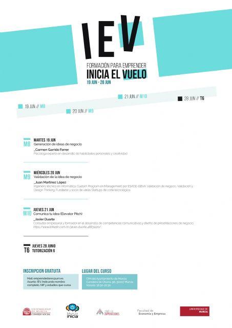 La Universidad de Murcia organiza talleres para generar ideas de nuevos negocios, ponerlas en marcha y comunicarlas - 1, Foto 1