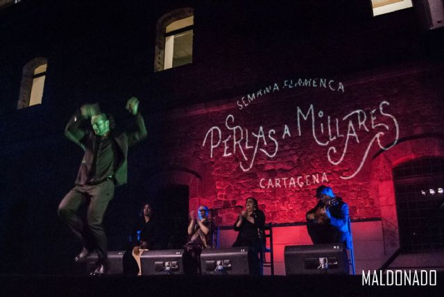 Los cantes de Levante inundan de arte flamenco el patio del antiguo CIM en el festival ´Perlas a Millares´ - 1, Foto 1