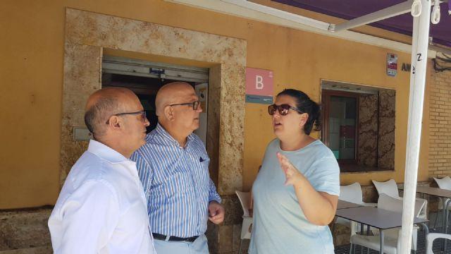 Diputados y concejales de Ciudadanos se desplazan hasta el Valle de Escombreras tras la avería en la refinería de Repsol - 2, Foto 2