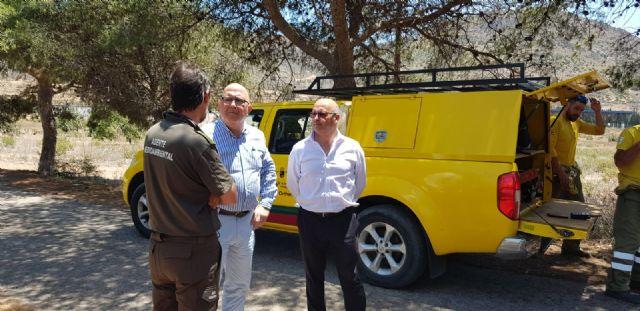 Diputados y concejales de Ciudadanos se desplazan hasta el Valle de Escombreras tras la avería en la refinería de Repsol - 3, Foto 3