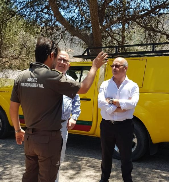 Diputados y concejales de Ciudadanos se desplazan hasta el Valle de Escombreras tras la avería en la refinería de Repsol - 4, Foto 4
