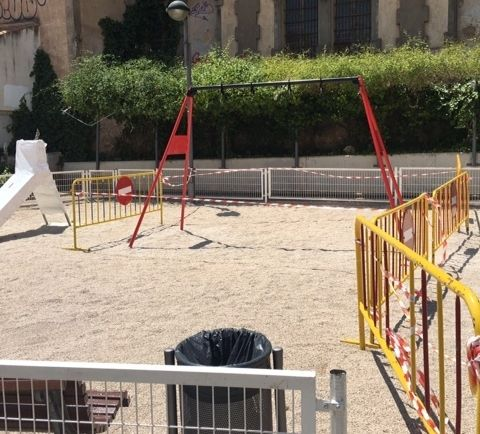 "They undertake improvement and conditioning work in the ""Blue Park"", in the area of ​​the urbanization ""La Verja"" - 2"