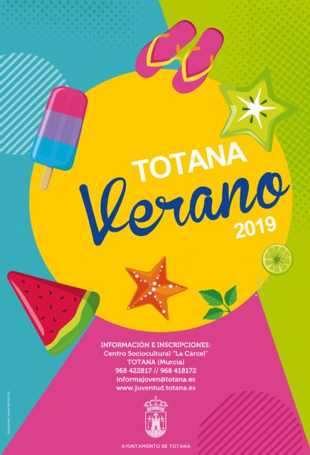 """A dozen activities make up the ambitious program """"Totana Verano 2019"""", which will last until September - 2"""