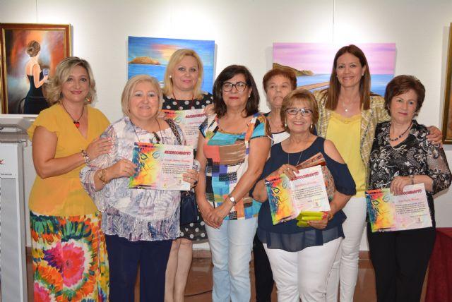 Concluye el curso del taller Pint art con un acto de entrega de diplomas - 2, Foto 2