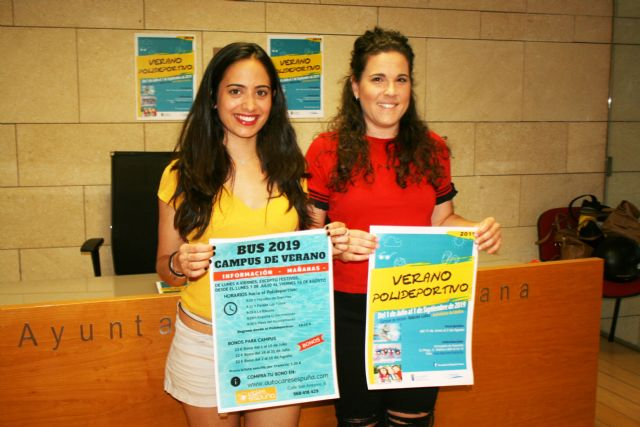 """The program """"Verano Polideportivo"""" is offered during July and August with a wide range of activities - 1"""