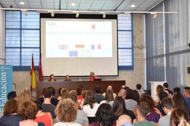 84 docentes realizarán cursos de inmersión lingüística en el extranjero en julio, Foto 1
