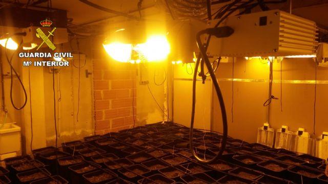 La Guardia Civil desmantela en Pliego una instalación dedicada al cultivo intensivo de marihuana - 3, Foto 3