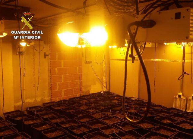 La Guardia Civil desmantela en Pliego una instalación dedicada al cultivo intensivo de marihuana - 4, Foto 4