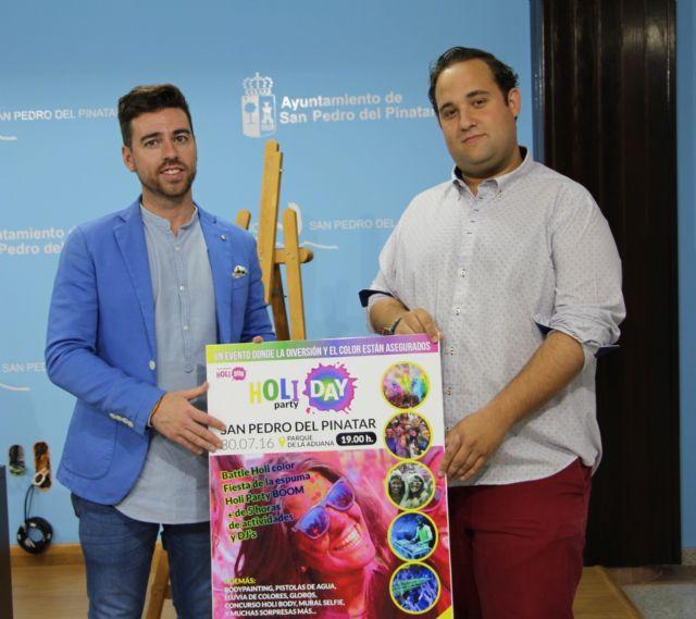 La Holi Day Party llenará de color San Pedro del Pinatar - 1, Foto 1