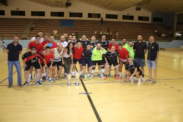 "The team ""Panadería Yves"" proclaims champion of the 24 Hours of Futsal ""Ciudad de Totana"" - 1"