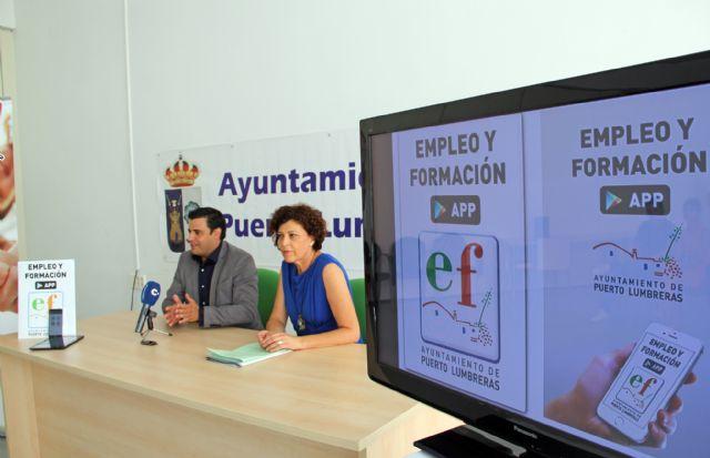 El Ayuntamiento de Puerto Lumbreras lanza una app móvil para facilitar la búsqueda de empleo - 1, Foto 1