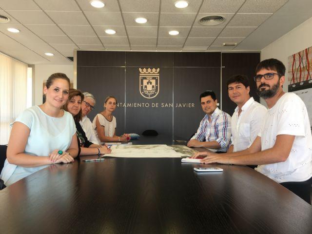 El alcalde recibió a los arquitectos ganadores del concurso de ideas para remodelar el Parque Almansa - 1, Foto 1