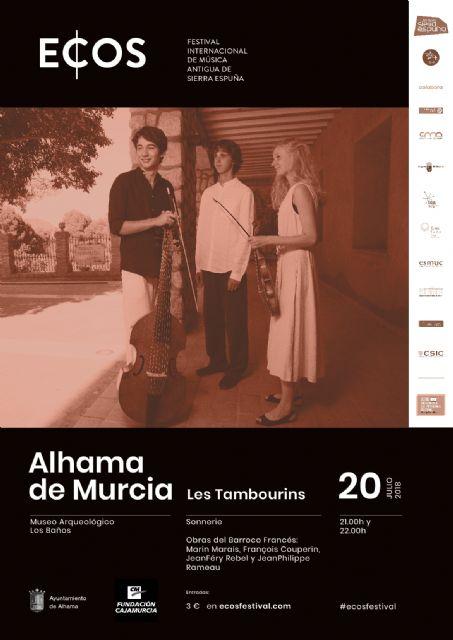 ECOS Festival llega hasta Alhama con un doble cartel, Foto 1