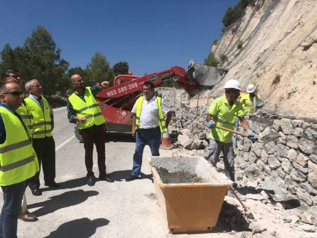 Refuerzan la seguridad vial en carreteras regionales que discurren por Caravaca y Moratalla - 1, Foto 1