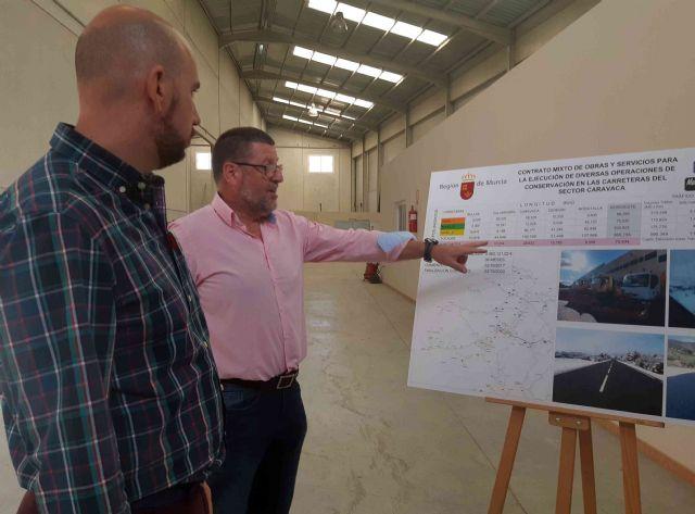 La Dirección General de Carreteras realiza actuaciones de mejora en vías regionales a su paso por el municipio de Caravaca - 3, Foto 3