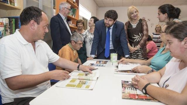 López Miras: Cartagena contará con 35 plazas más en centros de día para personas con discapacidad antes de que termine el año - 1, Foto 1