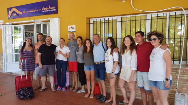Estudiantes de Enfermería de la UCAM participan como voluntarios en un campamento infantil de la Sociedad de Diabéticos de Cartagena - 1, Foto 1