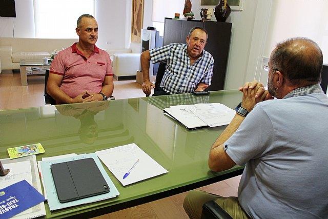 El alcalde se re�ne con organizaciones agrarias de Totana para conocer las necesidades y demandas generales del campo y la ganader�a en el municipio, Foto 3