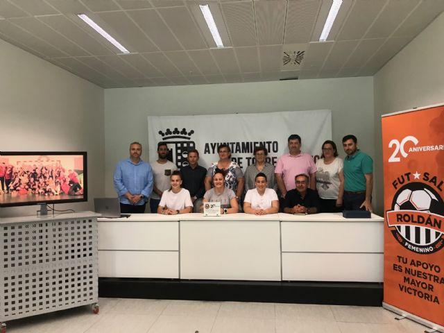 Presentación oficial de la nueva imagen del Roldán Fútbol Sala Femenino - 3, Foto 3