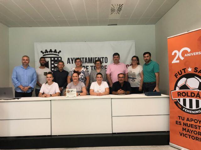 Presentación oficial de la nueva imagen del Roldán Fútbol Sala Femenino - 4, Foto 4