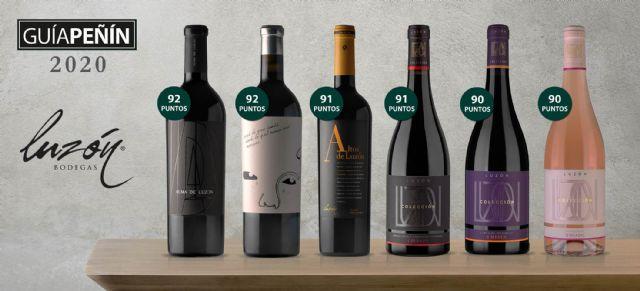 La guía Peñín 2020 califica de excelentes ocho vinos de Bodegas Luzón, Foto 1