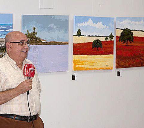 Inaugurada la primera muestra de pintura en el Casino Cultural de Moratalla, de Ramón Victoria - 1, Foto 1