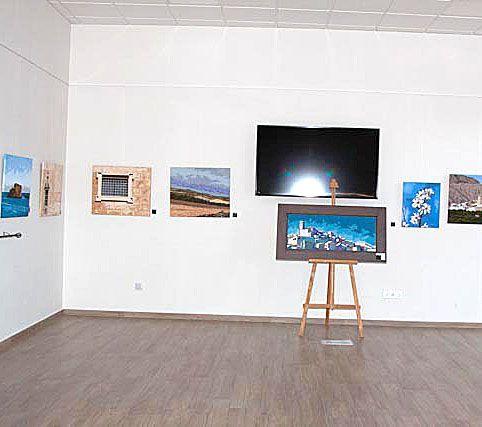 Inaugurada la primera muestra de pintura en el Casino Cultural de Moratalla, de Ramón Victoria - 2, Foto 2
