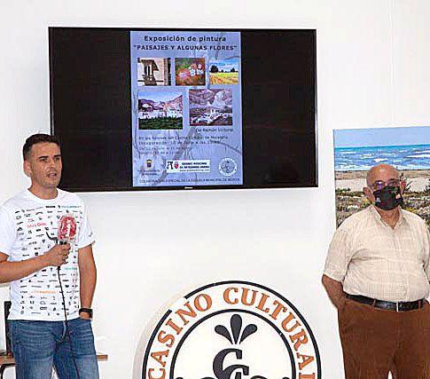 Inaugurada la primera muestra de pintura en el Casino Cultural de Moratalla, de Ramón Victoria - 4, Foto 4