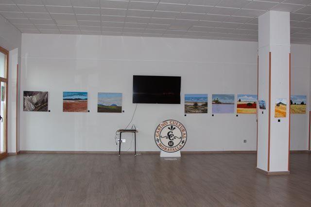 Inaugurada la primera muestra de pintura en el Casino Cultural de Moratalla, de Ramón Victoria - 5, Foto 5