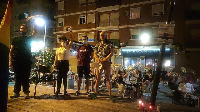 Homenaje en el barrio murciano de Santa Eulalia a Samuel Luiz - 2, Foto 2