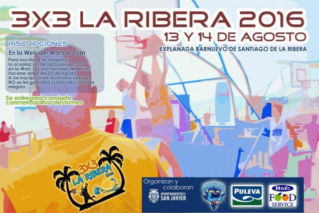 El 3X3 La Ribera 2016 se juega este fin de semana en 10 pistas junto al mar  con 108 equipos y 432 jugadores - 1, Foto 1