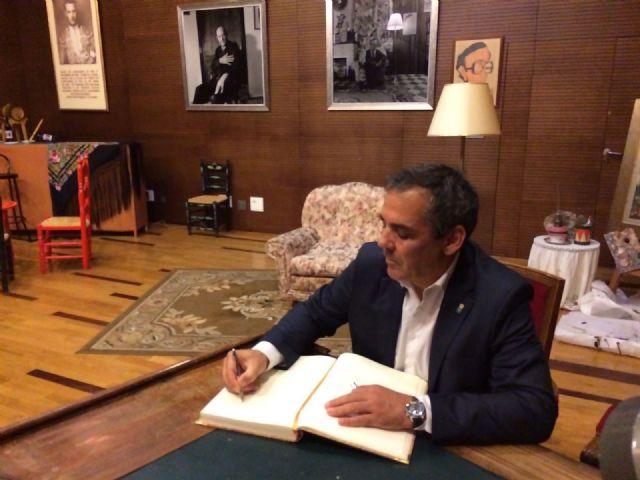 La Unión da la bienvenida a Asturias en el día que el Principado recibe el premio Castillete de Oro, Foto 2