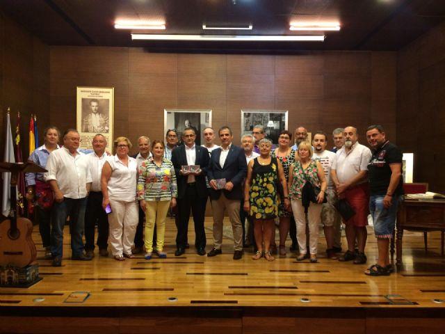 La Unión da la bienvenida a Asturias en el día que el Principado recibe el premio Castillete de Oro, Foto 5