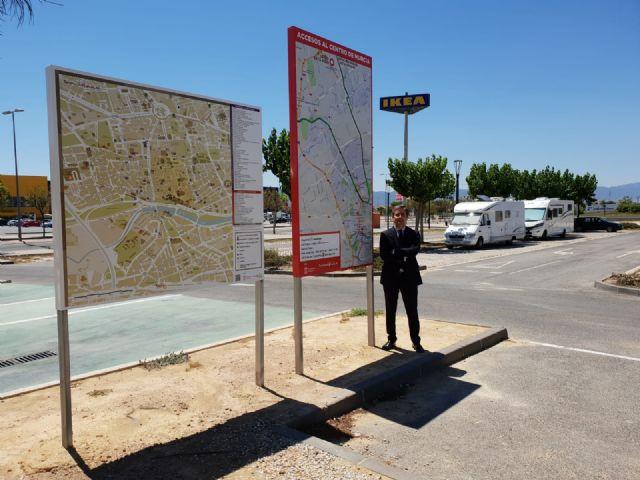 El aparcamiento de caravanas cuenta con nueva señalización turística - 2, Foto 2