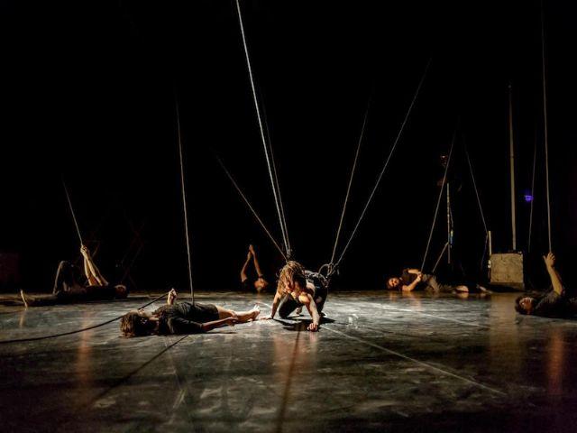 La poesía del circo llega al Festival con 5Es Hurlants de la compañía francesa Cie lOublié dirigida por Raphaélle Boitel - 1, Foto 1