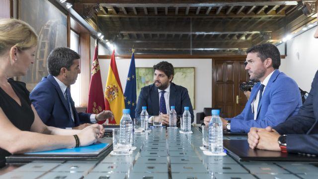 La Región de Murcia y Alicante se unen para buscar alianzas en defensa del Tajo-Segura y
