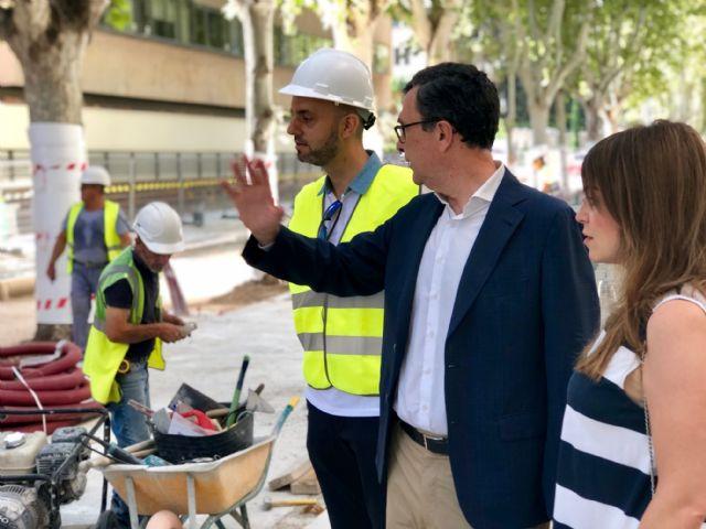 Avanzan las obras en el último tramo de Alfonso X, que reducirán el tráfico un 95% - 2, Foto 2