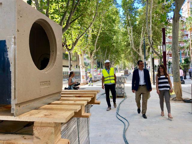 Avanzan las obras en el último tramo de Alfonso X, que reducirán el tráfico un 95% - 3, Foto 3
