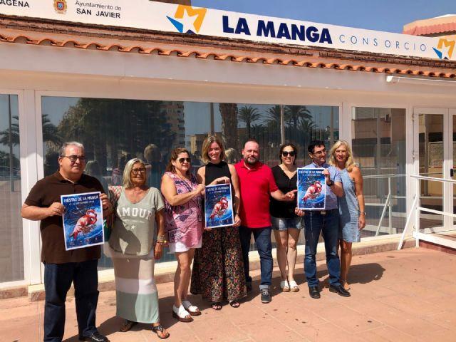 Las fiestas de La Manga se anuncian ya en un cartel que recurre a la flora y fauna autóctonas - 2, Foto 2