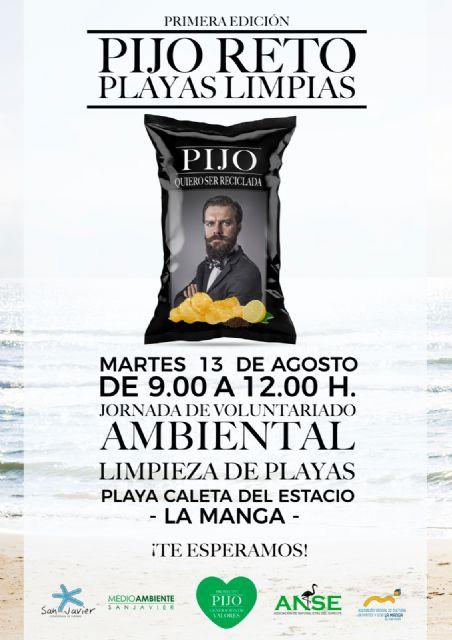 Pijo, el Ayuntamiento de San Javier y ANSE se unen por el medio ambiente - 1, Foto 1