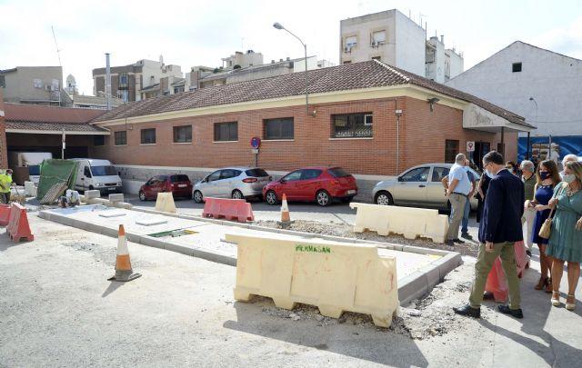 El peatón gana espacio y accesibilidad en el entorno de la plaza de abastos de Cabezo de Torres - 2, Foto 2