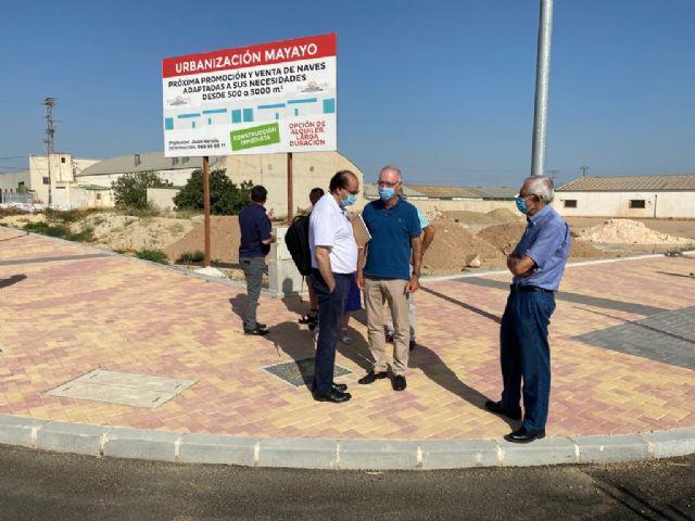 El Ayuntamiento recibe la urbanización de 24.000 metros cuadrados para la instalación de empresas en el polígono El Mayayo - 1, Foto 1