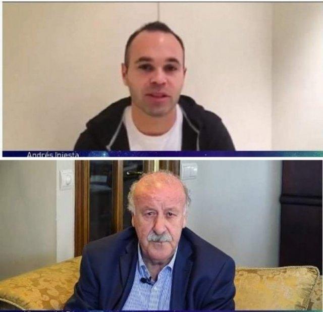 Andrés Iniesta y Vicente del Bosque apoyan la investigación en Lipodistrofias - 1, Foto 1