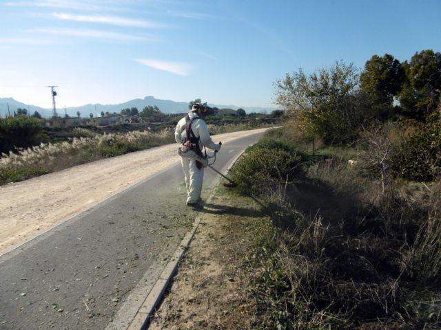 Desarrollo Urbano pone a punto más de 26 km de carril bici, entre el Raal y la Contraparada - 2, Foto 2
