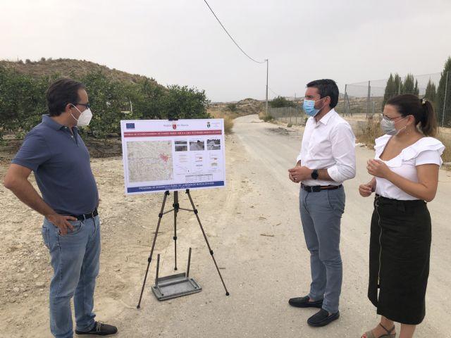 La Comunidad reparará tres caminos rurales de Fortuna por valor de 815.995 euros para mejorar la accesibilidad de vecinos y visitantes - 1, Foto 1