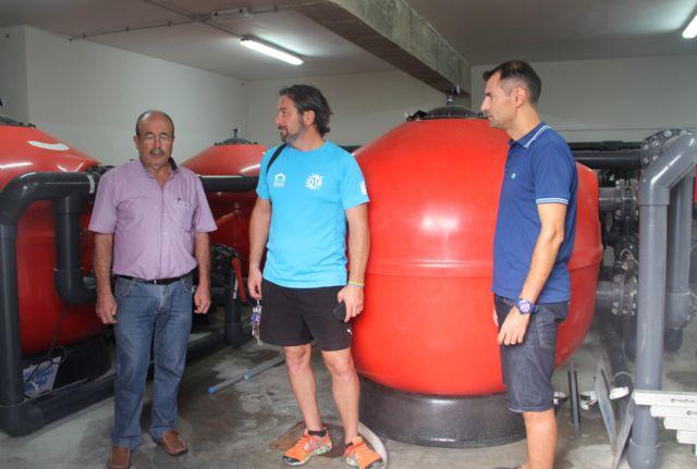 El Ayuntamiento de Puerto Lumbreras reutiliza el agua de las piscinas de verano para la limpieza de calles y riego de jardines - 1, Foto 1